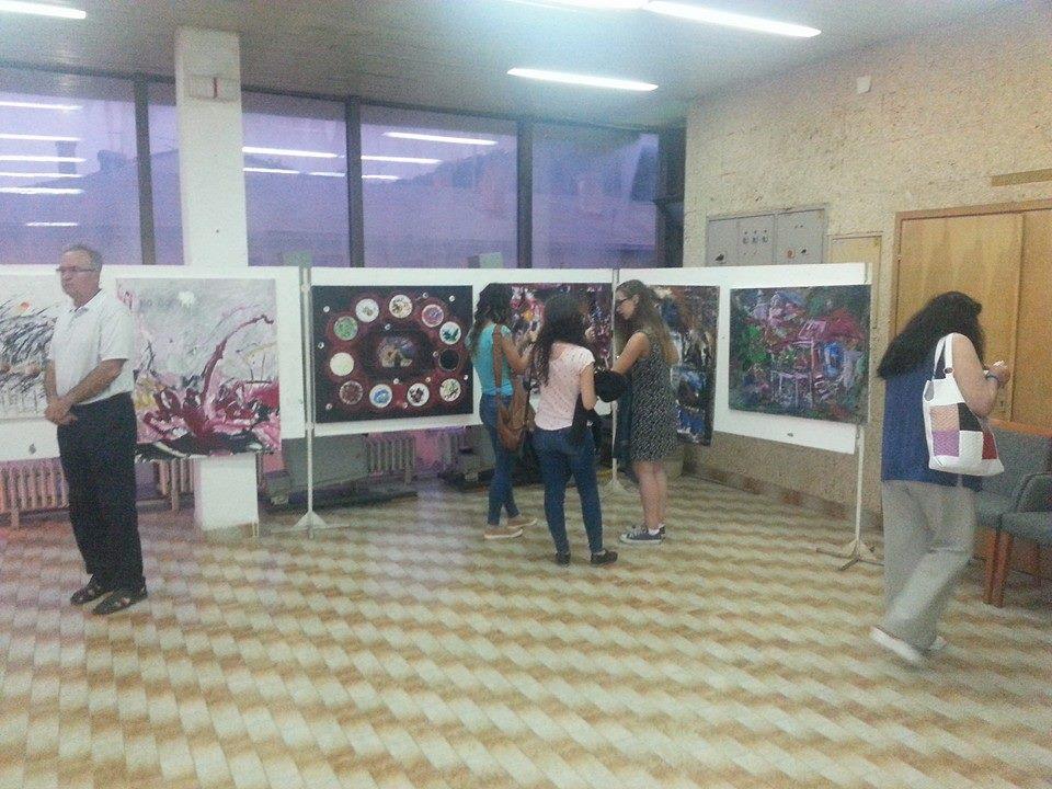 """Отворена изложба на дела од ликовната колонија """"Лесново 2014"""""""