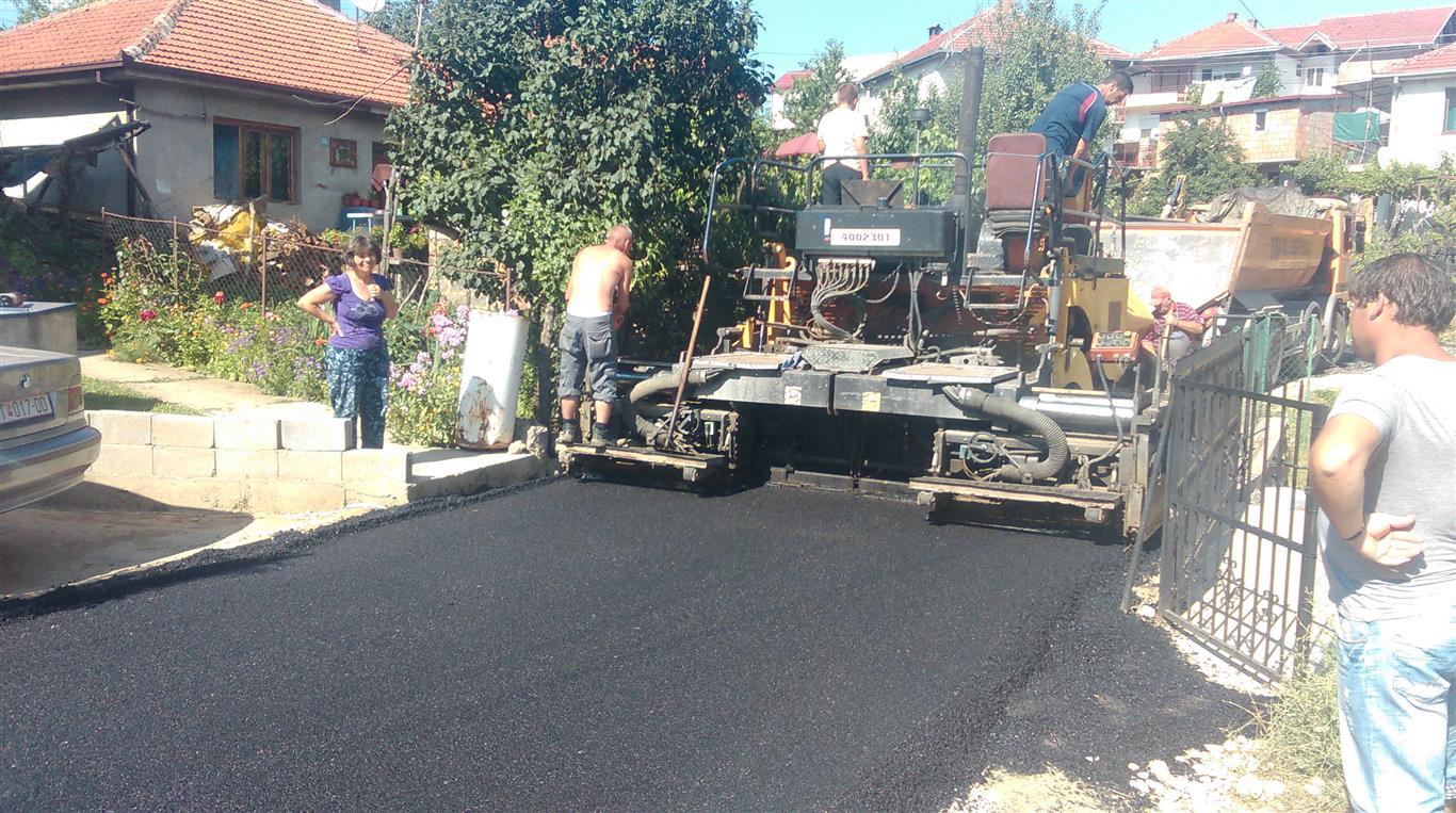 Продолжуваат градежните активности во населба Лозаново