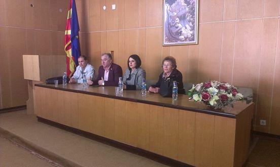 Градоначалникот Алексовски оствари средба со пензионерите