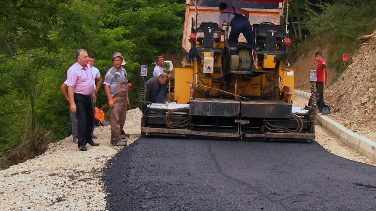 Се асфалтира улица во село Жидилово
