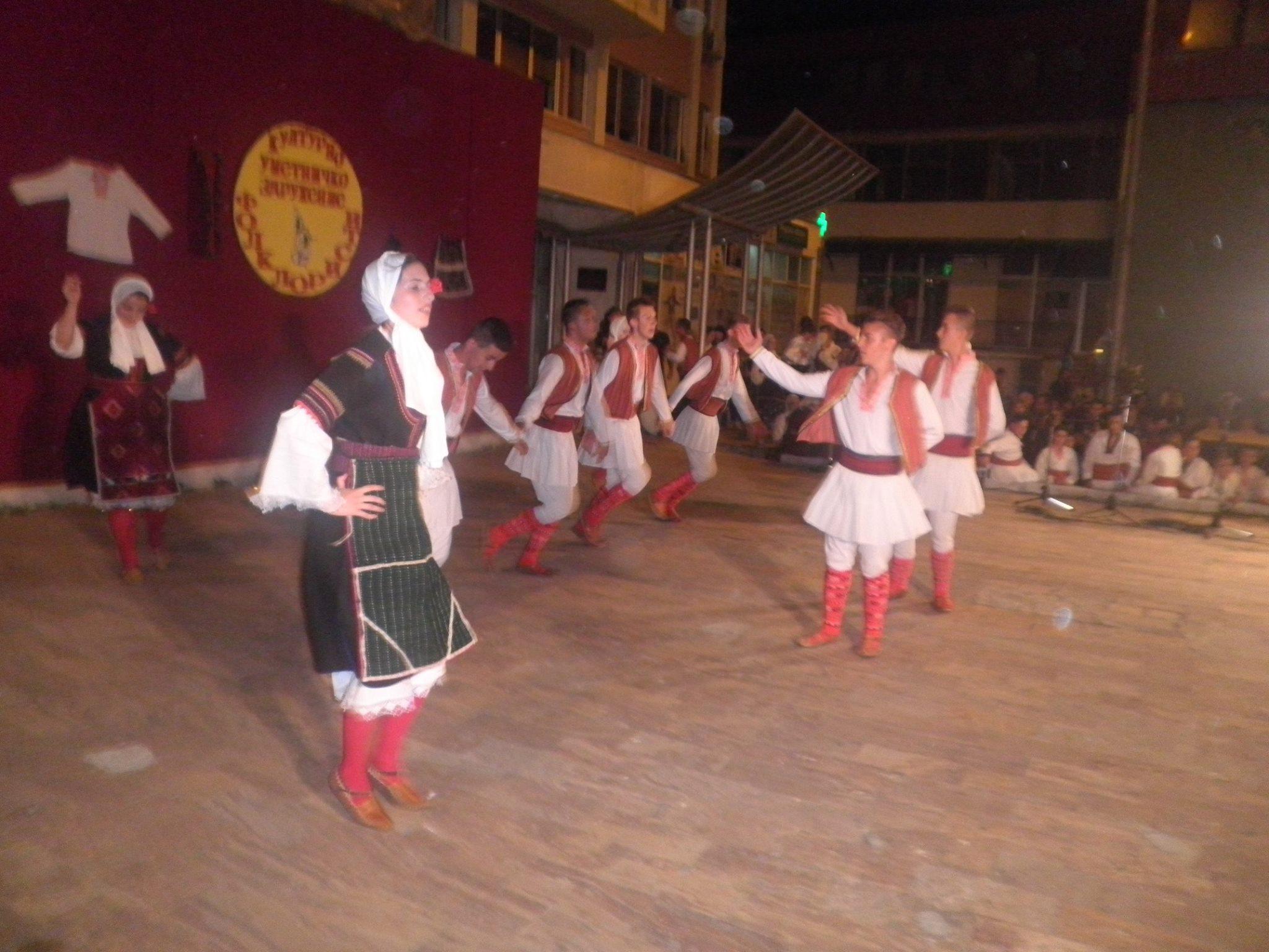 """КУЗ """"Фолклористи"""" одржаа целовечерен концерт во рамки на манифестацијата """"Топол културен бран"""""""