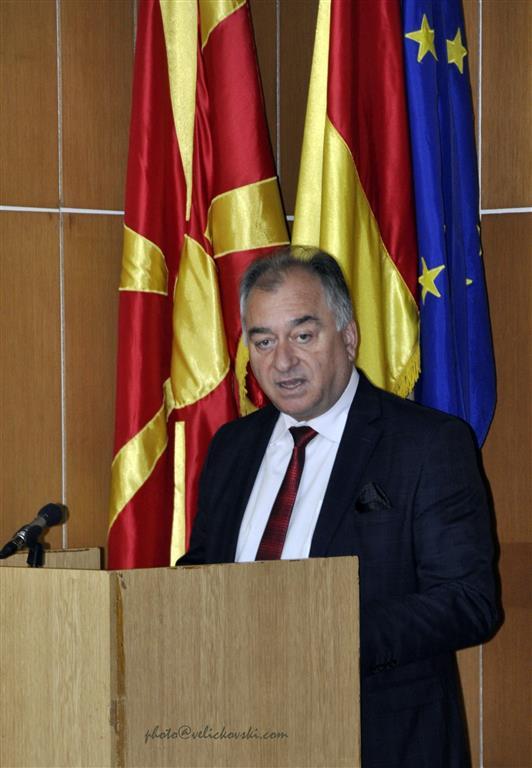 Обраќање на градоначалникот Алексовски на Свечената седница на советот на Општина Крива Паланка