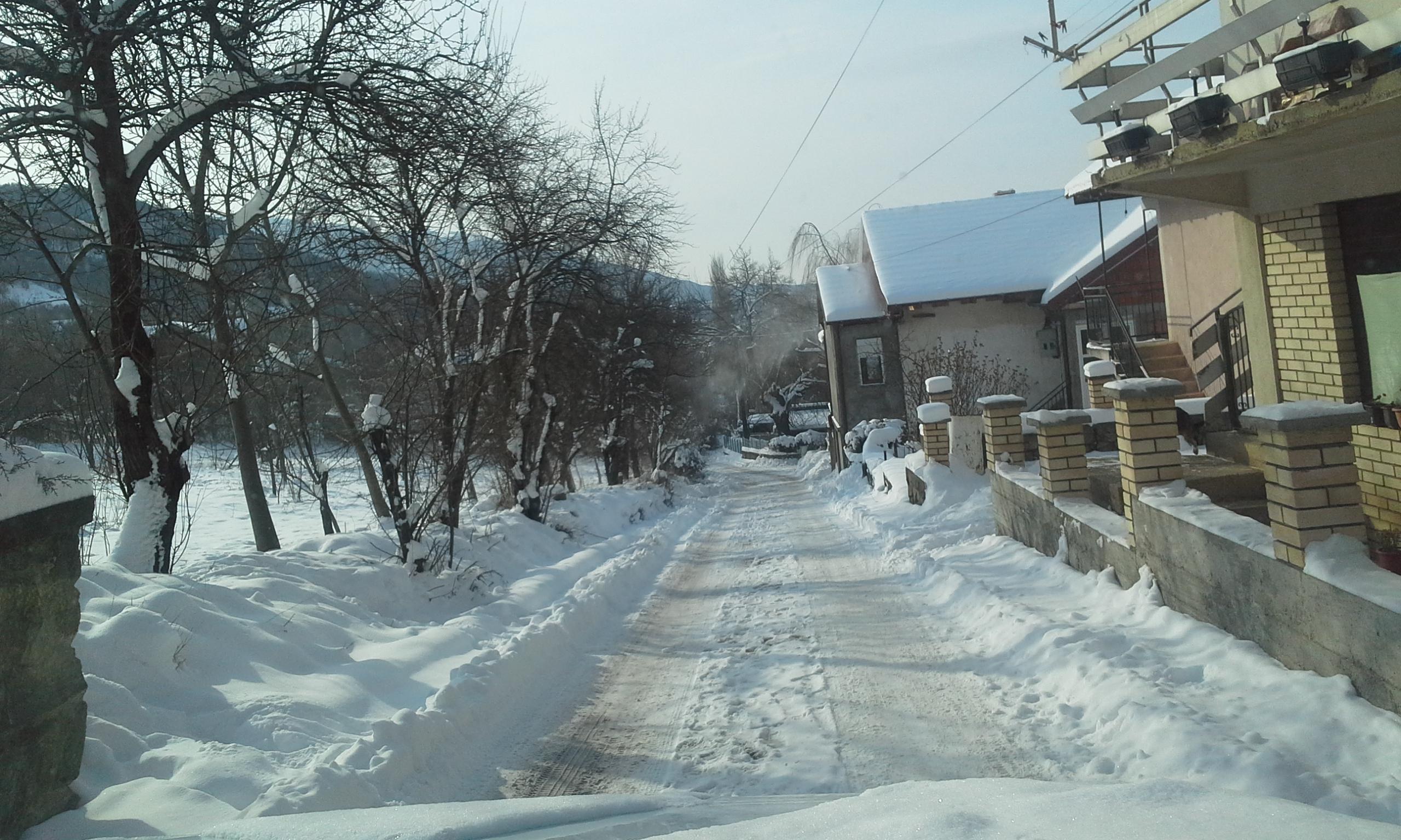 Зимско одржување во општина Крива Паланка