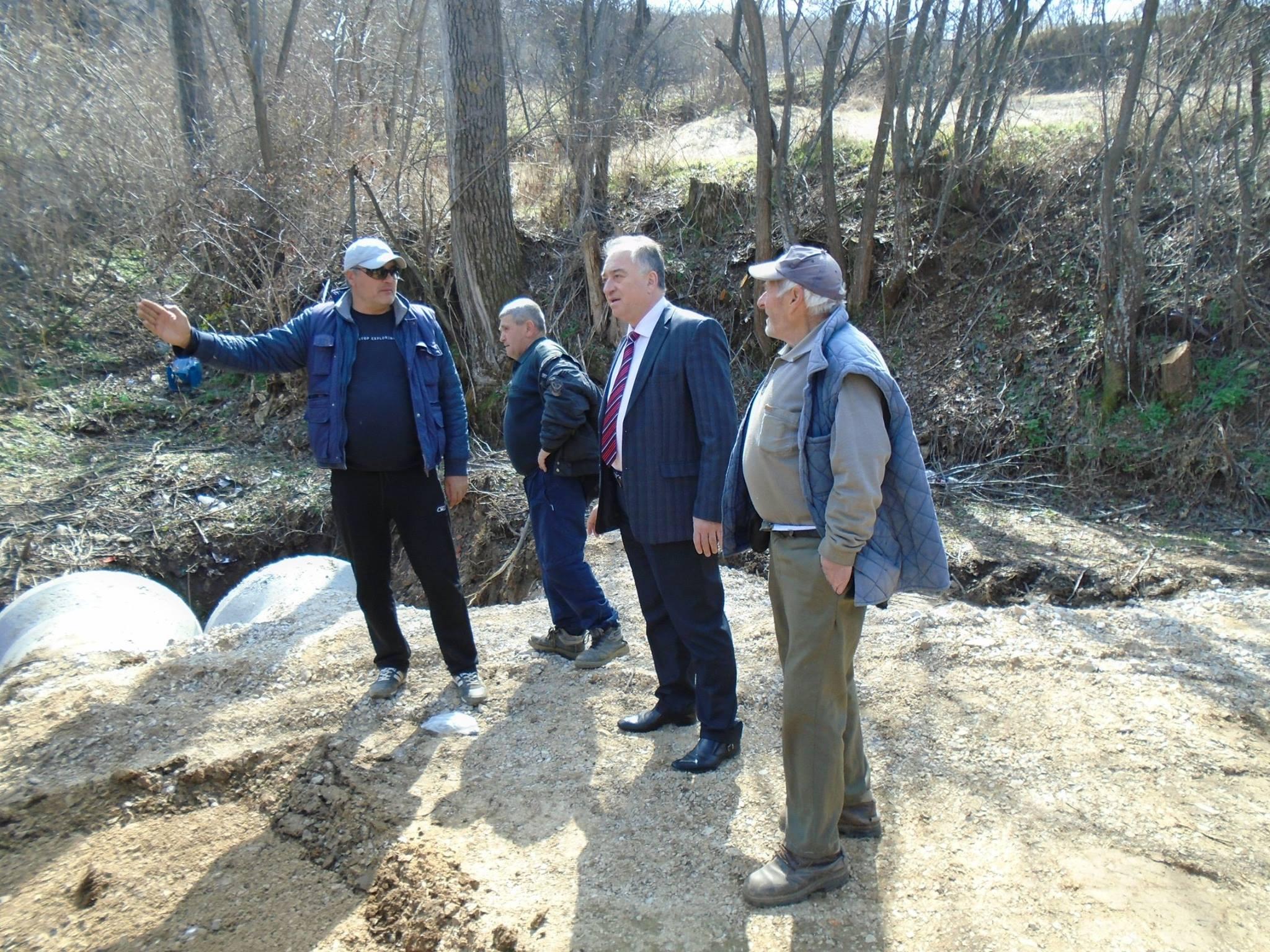 Градоначалникот Арсенчо Алексовски изврши увид во градежните активностите на терен