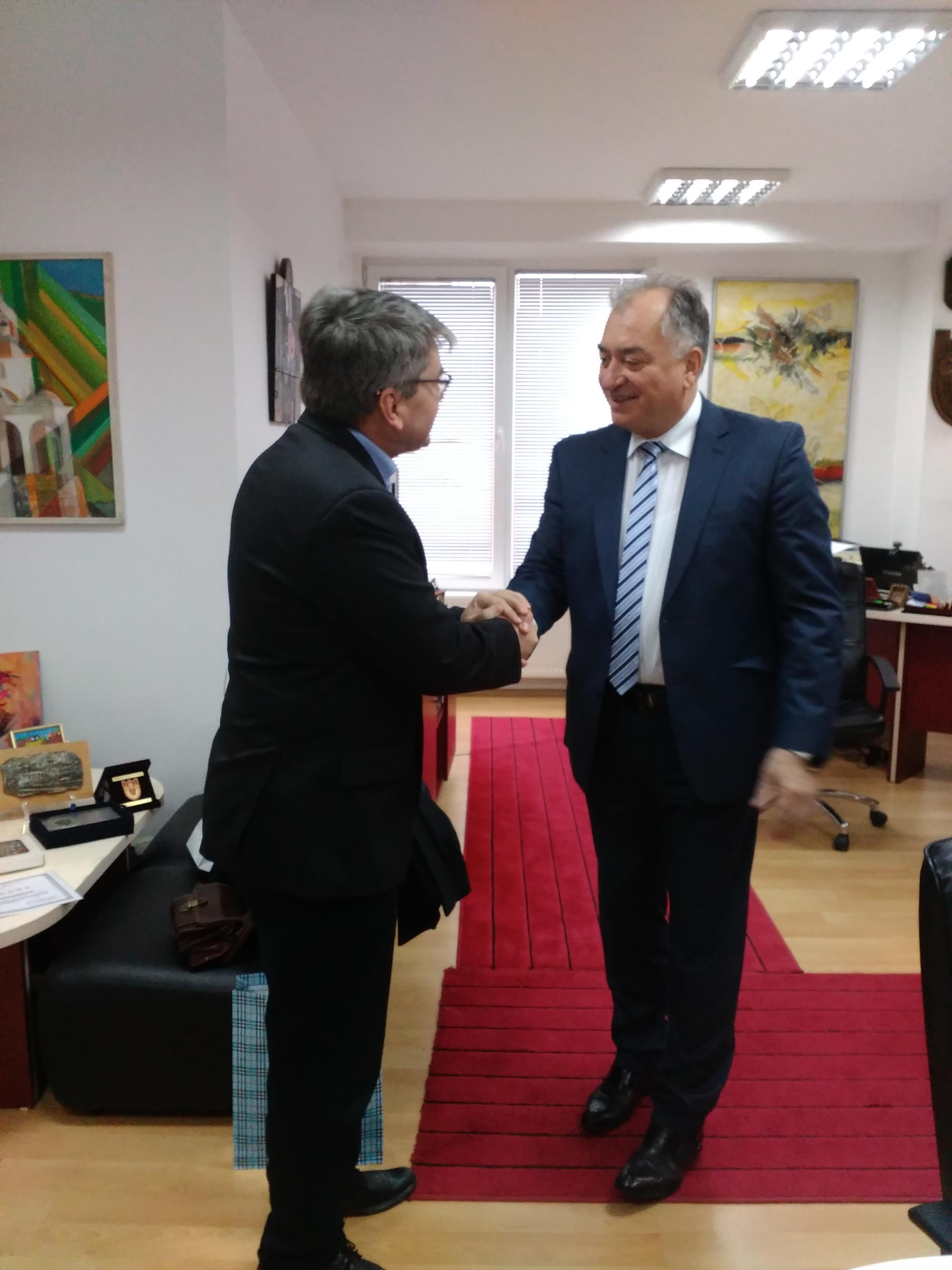 Делегација од збратимениот град Свидник – Словачка ја посети Крива Паланка