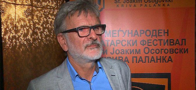 Гоце Ристовски, лауреат на IX Меѓународен театарски фестивал Свети Јоаким Осоговски