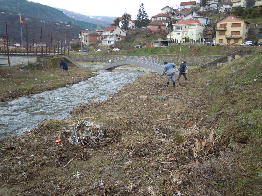 Активности за расчистување на градот