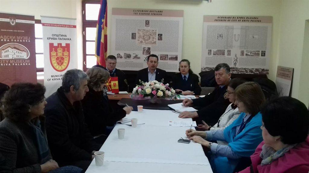 Состанок на Локален совет за превенција на Крива Паланка