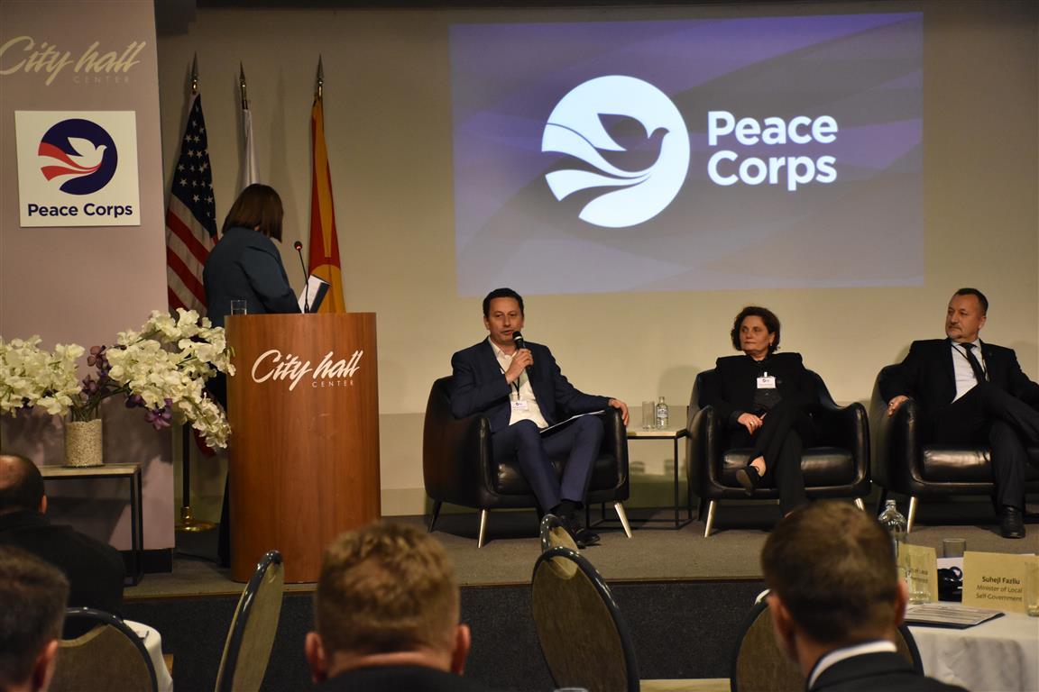 Градоначалникот Мицевски на Форум за градоначалници