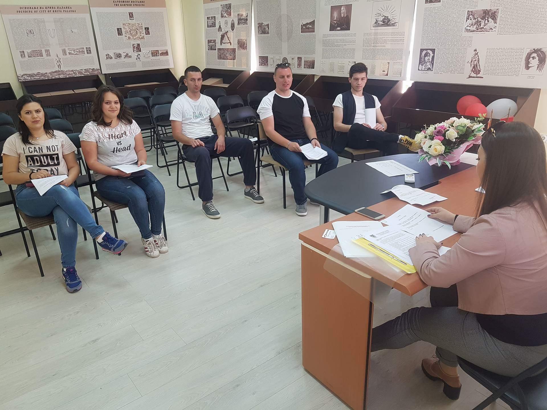 Советот на млади на Крива Паланка со ново раководство ќе ја унапредува локалната состојба со младите