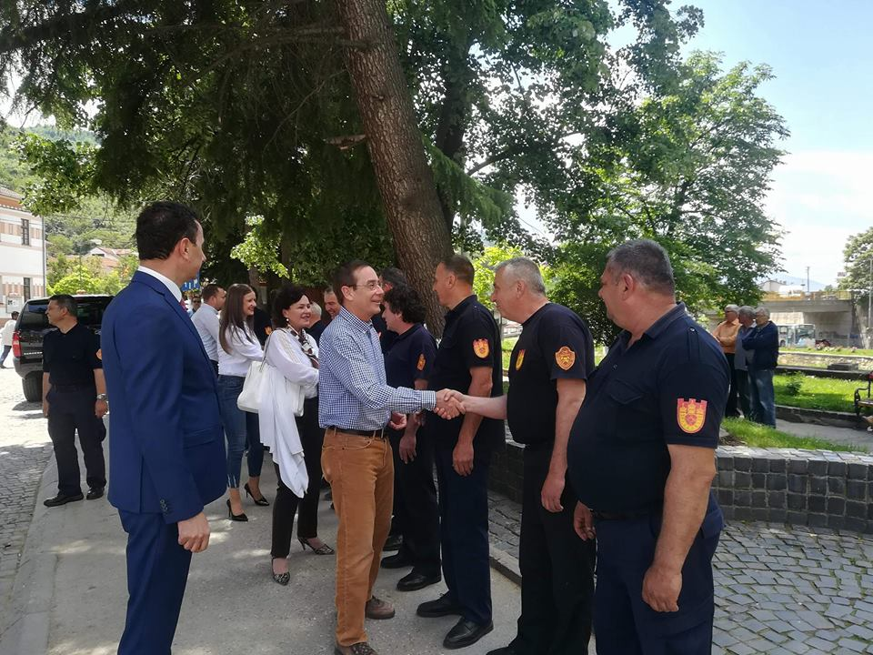 Во Крива Паланка се одбележа Денот на пожарникарството