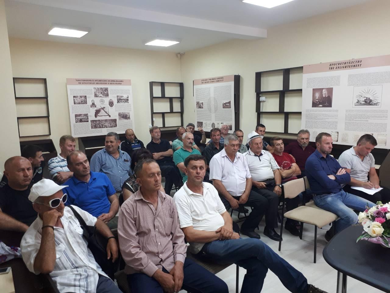 Информација за одржан состанок со претседатели на месни заедници