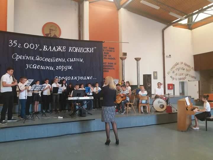"""Голем успех на Градскиот оркестар """"АЛЕГРО"""" на Меѓународниот натпревар во Велес"""
