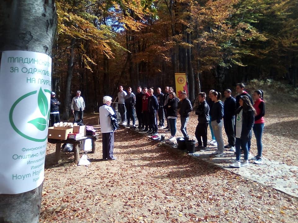 Акција за мапирање и чистење на дивите депонии на Калин Камен на извидничкиот одред Наум Наумовски Борче