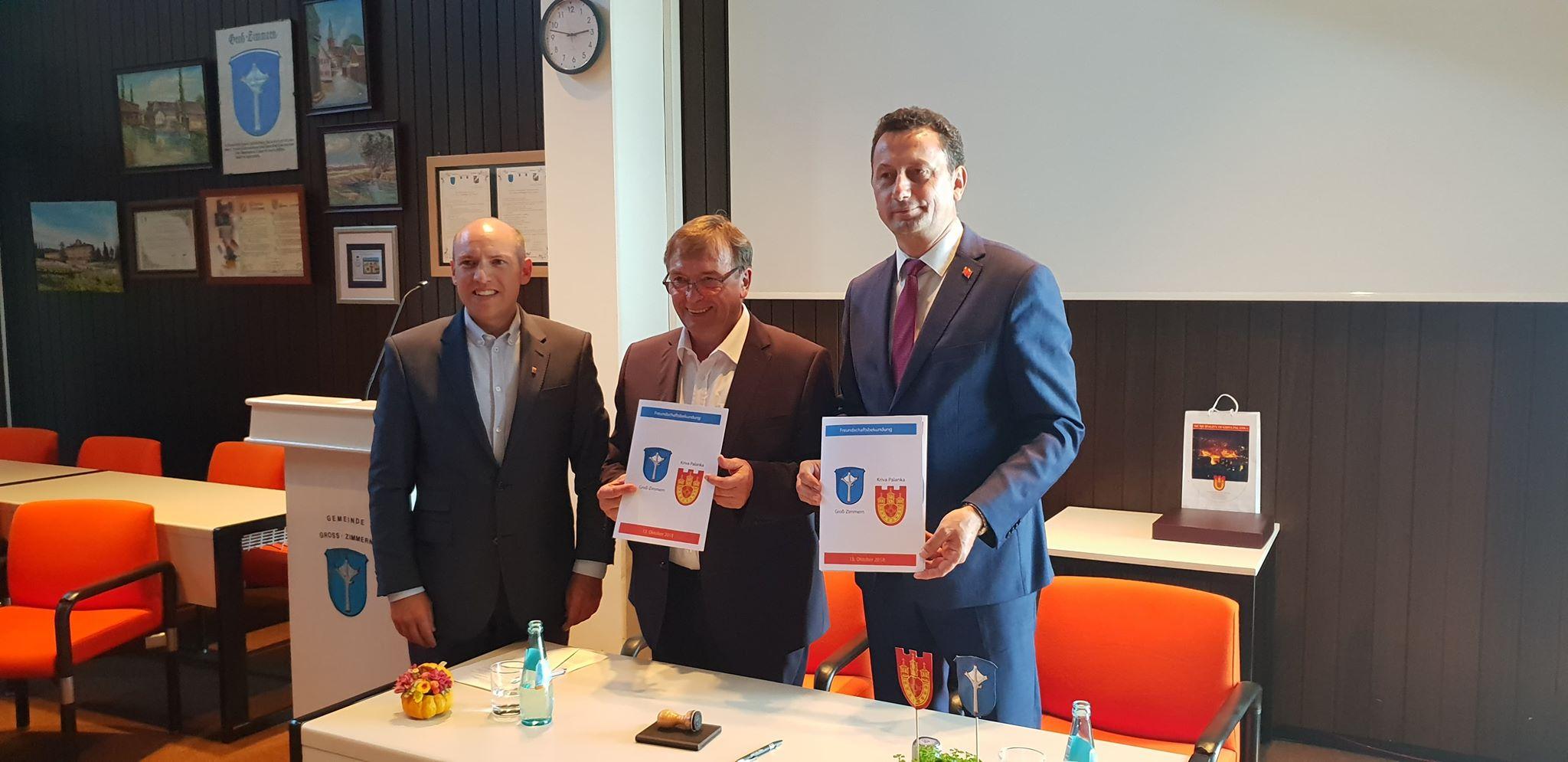 Потпишана Декларација за пријатлство помеѓу  Грос-Цимерн и Крива Паланка