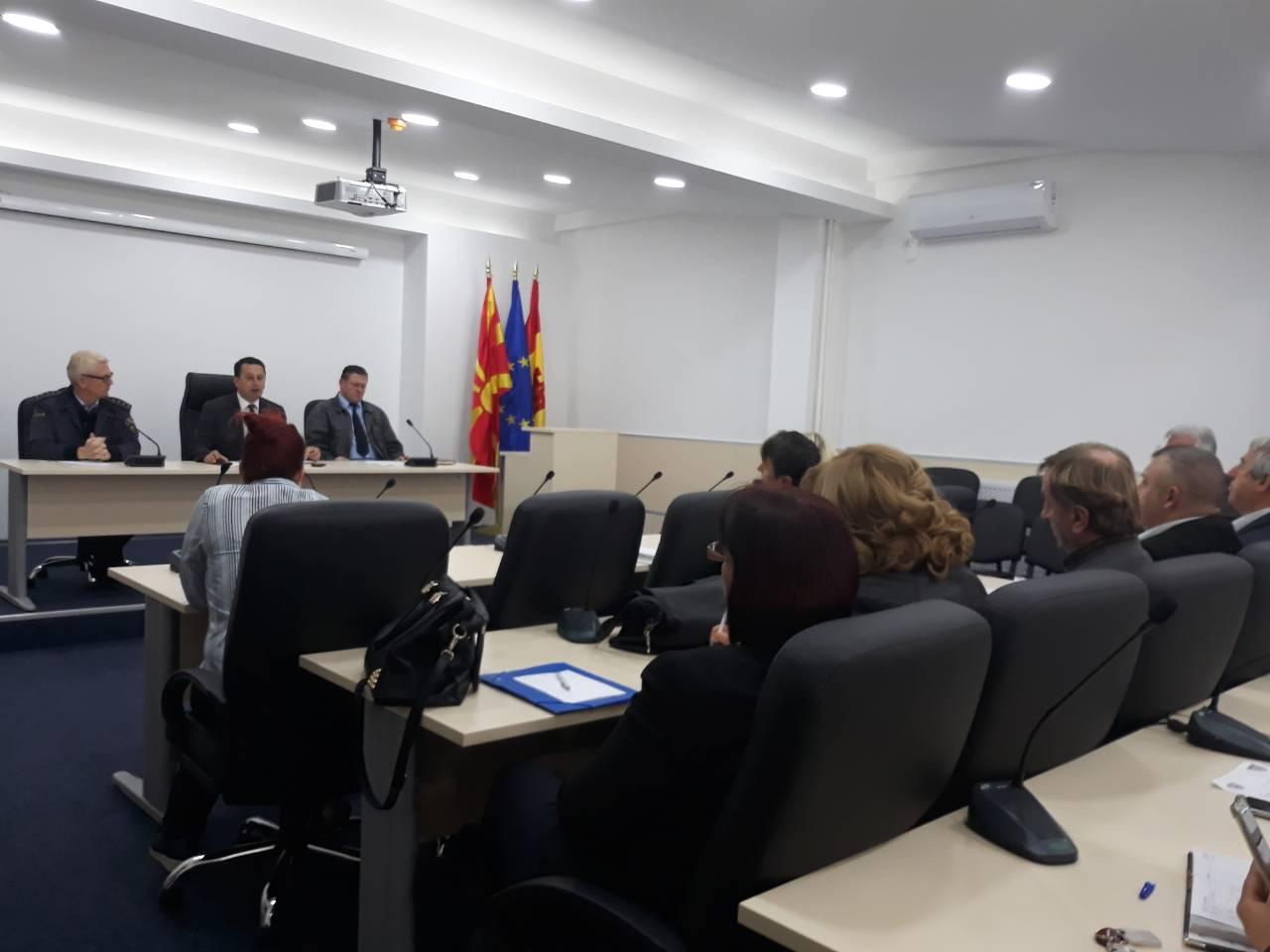 Состанок на локален совет за превенција во Крива Паланка