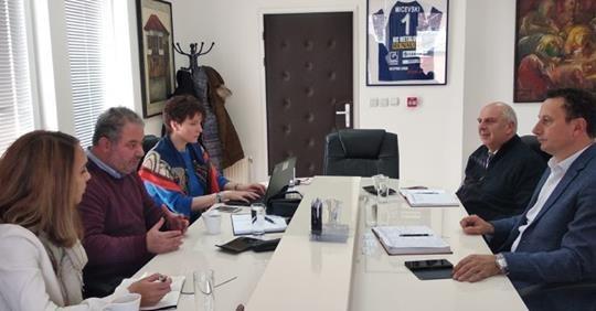 Претставници од Светска банка на работна средба со градоначалникот Мицевски