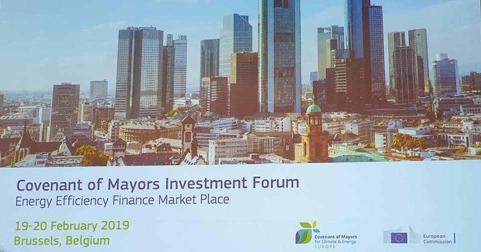 Градоначалникот Мицевски учествува на Инвестициски форум за енергетска ефикасност