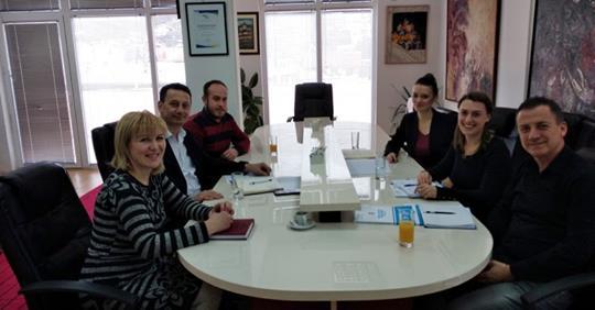 Претставници од ГИЗ за развој преку спорт остварија средба со градоначалникот на Крива Паланка