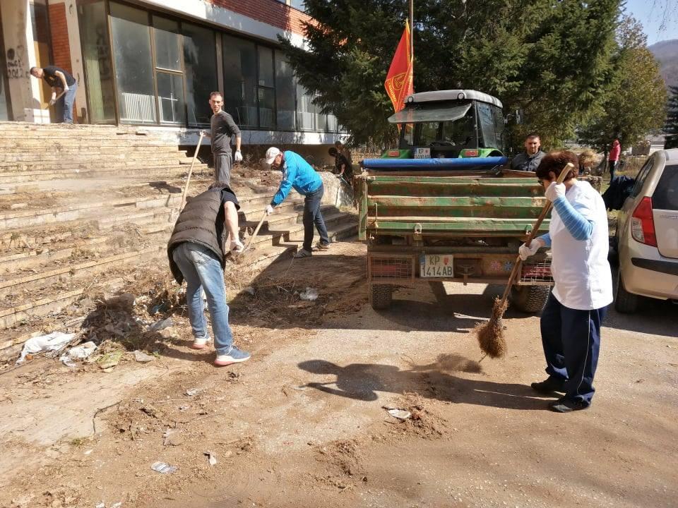 """Во Крива Паланка започна големата еколошка акција """"Општина без смет за поубав свет"""""""