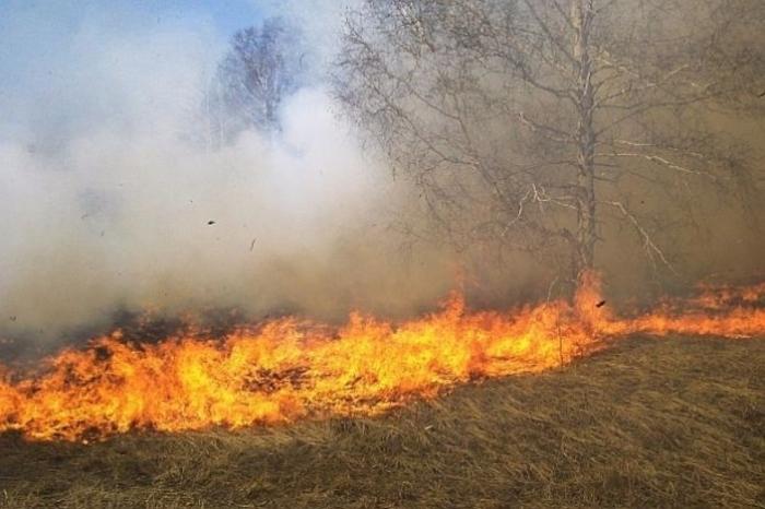 Известување за забранa за палење на оган на отворен простор