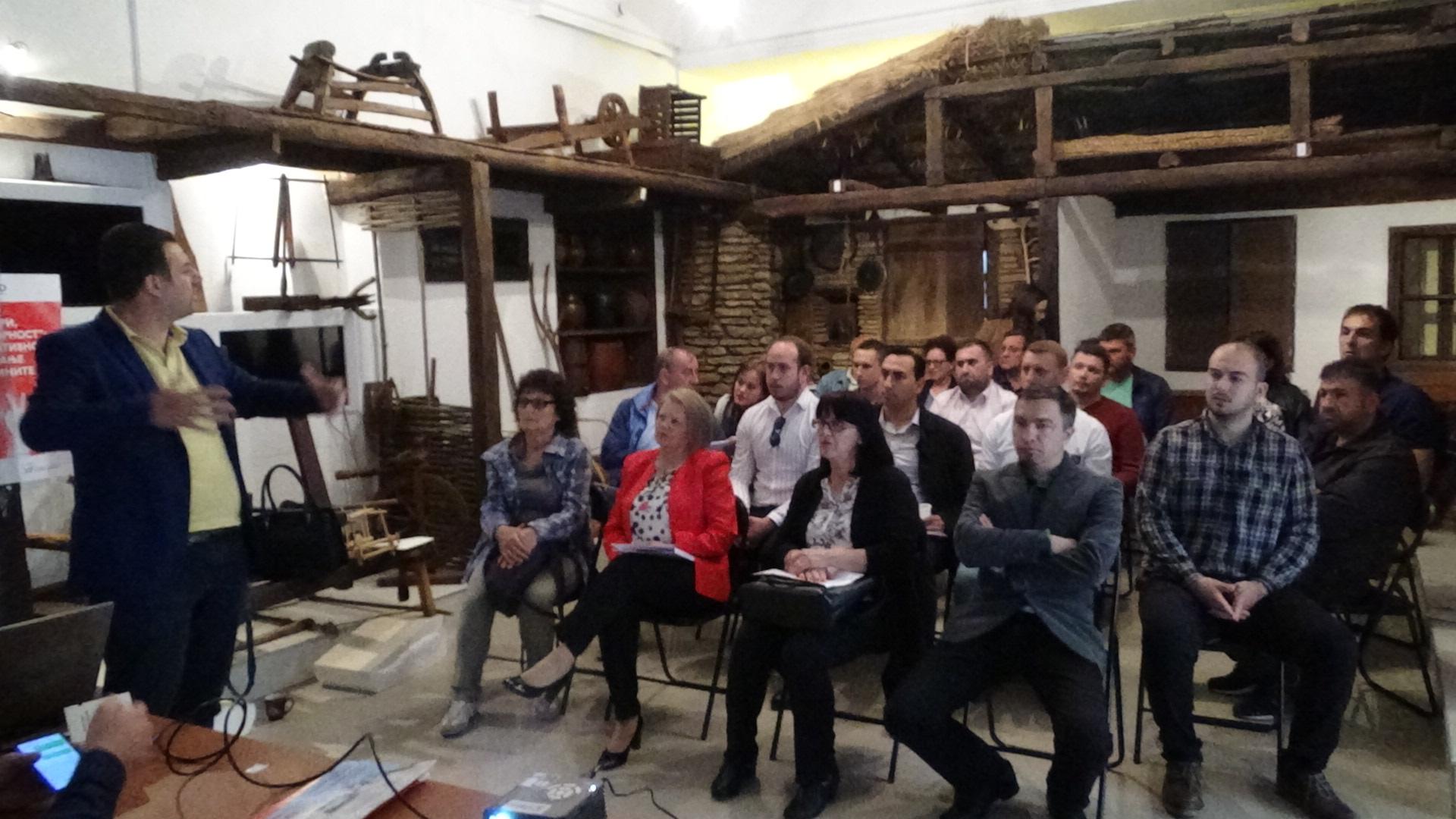 Во Крива Паланка се оддржа настан за партиципативно буџетирање во општините