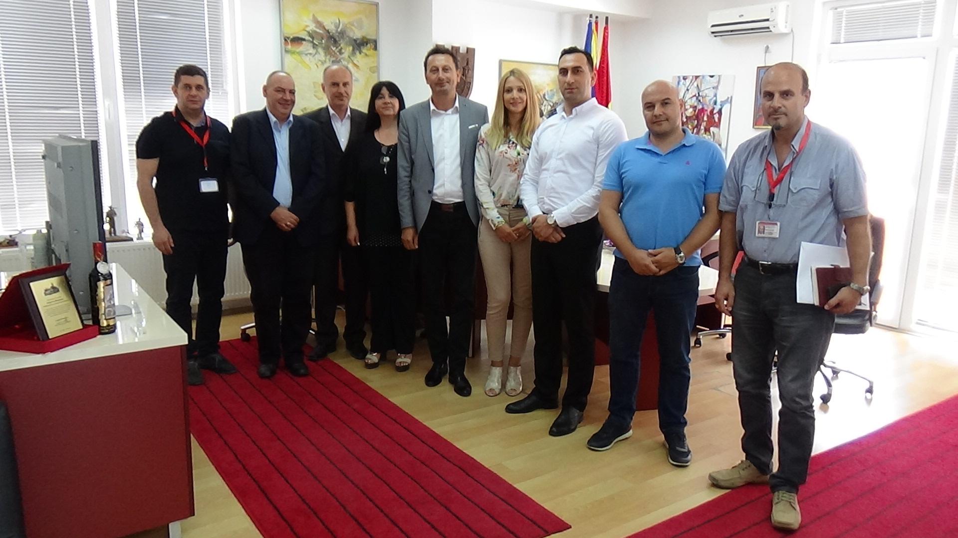 Работен состанок на партнерските тимови од Крива Паланка и Лесковец
