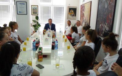 Младите репрезентативки во кошарка на припреми во Крива Паланка