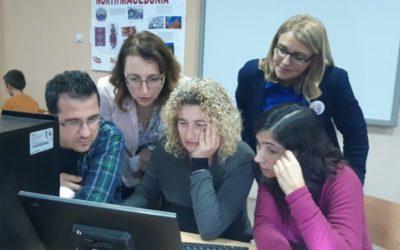"""ООУ """"Јоаким Крчовски"""" беше домаќин на ученици и  наставници од Португалија, Литванија, Полска и Турција"""