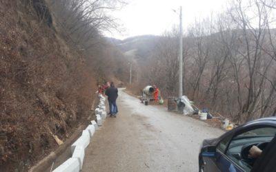 Започна реконструкцијата на стариот пат кон манастирот Свети Јоаким Осоговски