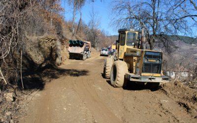 Започна изградба на локален пат во с. Голема Црцорија