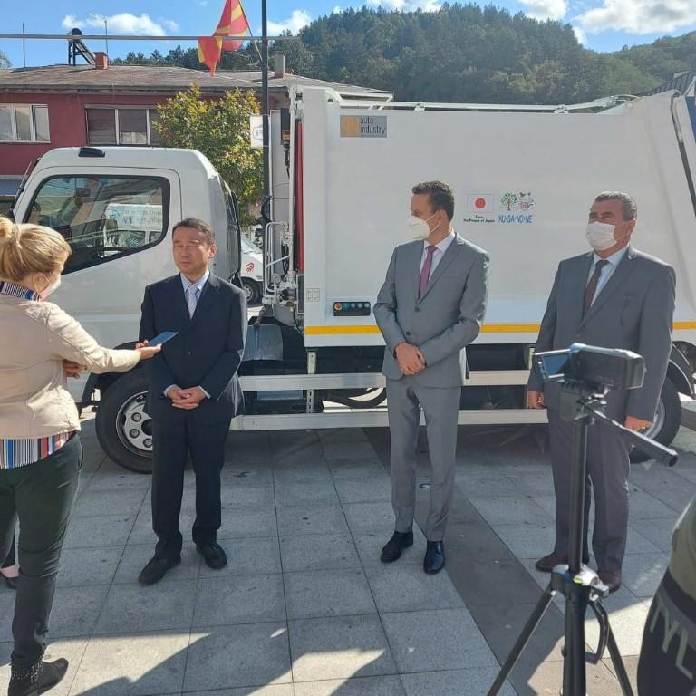 Заменик шефот на мисијата на Јапонската амбасада во посета на Крива Паланка