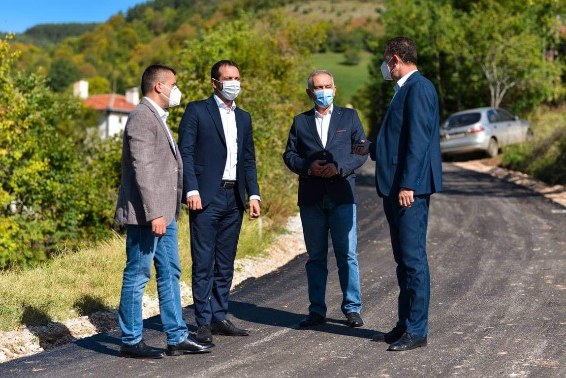 Заврши асфалтирањето на патниот правец кон граничниот премин Голеш
