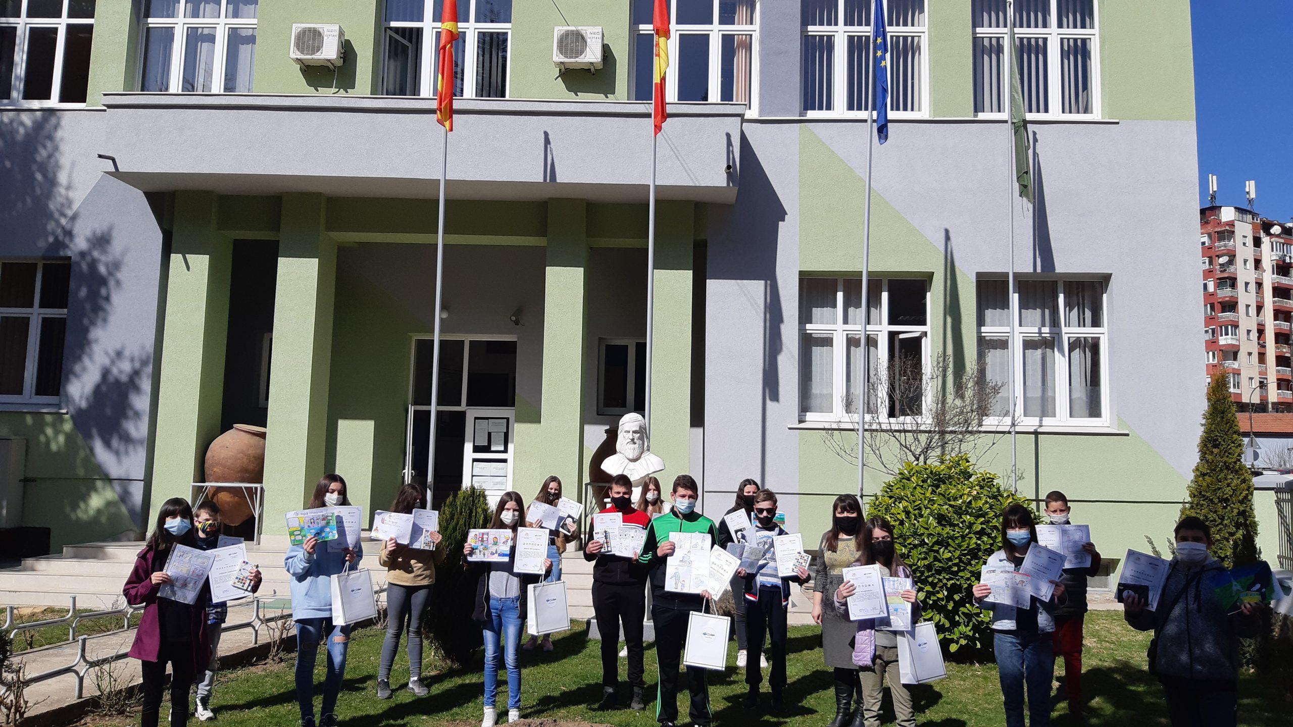 Франкофоните од Крива Паланка продолжуваат да нижат успеси и меѓународни награди
