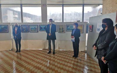 """Отворена изложбата на слики """"Марини"""" на Ацо Таневски"""