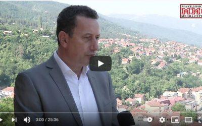 Интервју на градоначалникот Мицeвски за ММС (Македонски Медиа Сервис)