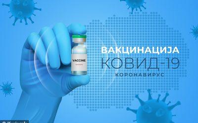 Вакцинација против Ковид-19 без закажан термин и теренска вакцинација во Крива Паланка