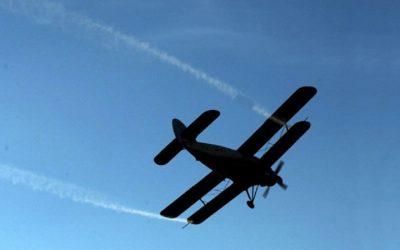 Известување за граѓаните – авионско прскање против комарци